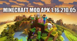 Мод Minecraft APK 1.16.210.05 на андроид